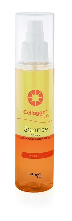 Sonnenschutz Cellagon Sunrise Sonnenschutzspray SPF 20