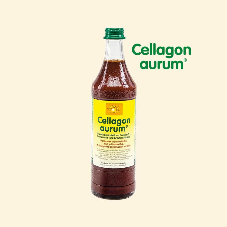 Mikronährstoffkonzentrat: Flüssige Vitamine trinken | Cellagon aurum