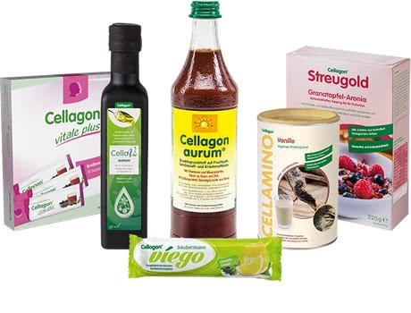 Cellagon Lebensmittel Produkte