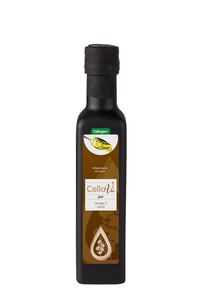 Leinöl Cellagon CellaVie pur Flasche
