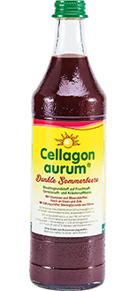 Cellagon Aurum Dunkle Sommerbeere Flasche