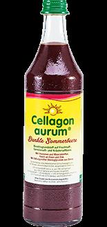 Cellagon Aurum Dunkle Sommerbeere Flasche