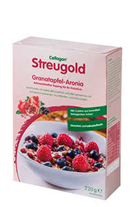 Cellagon Leinsamen Streugold Granatapfel Aronia