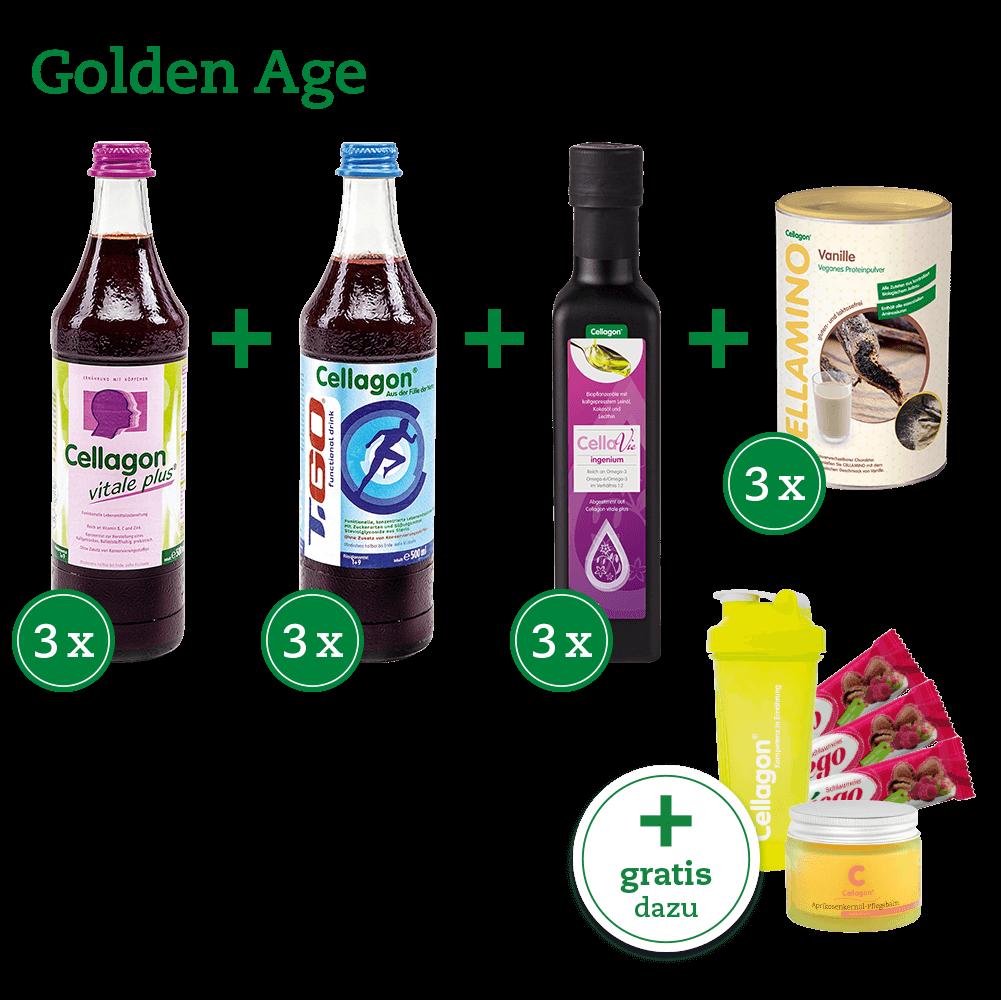 """Ernährungskonzept Cellagon """"Golden Age"""""""
