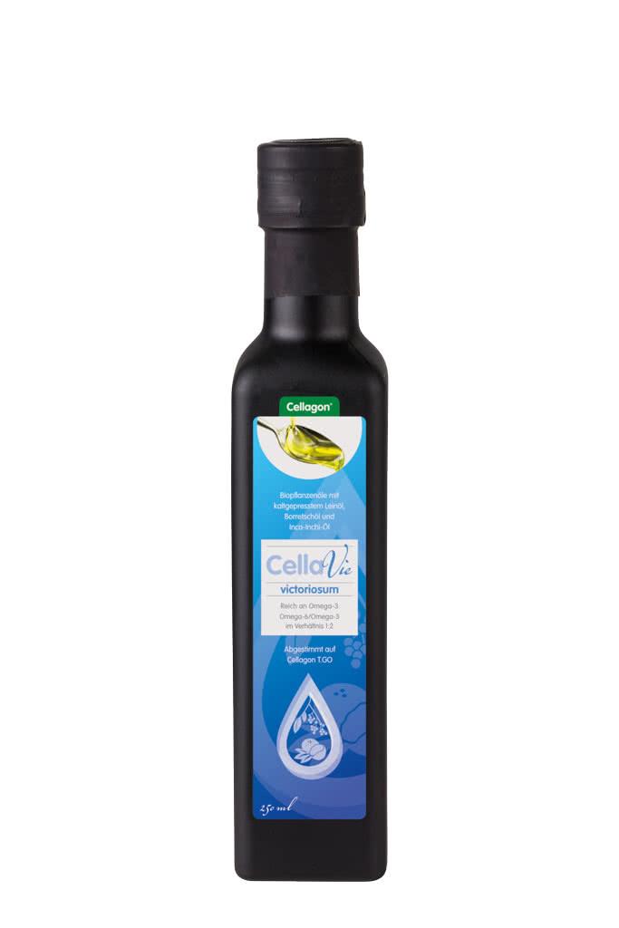 Leinöl Cellagon CellaVie victoriosum Flasche
