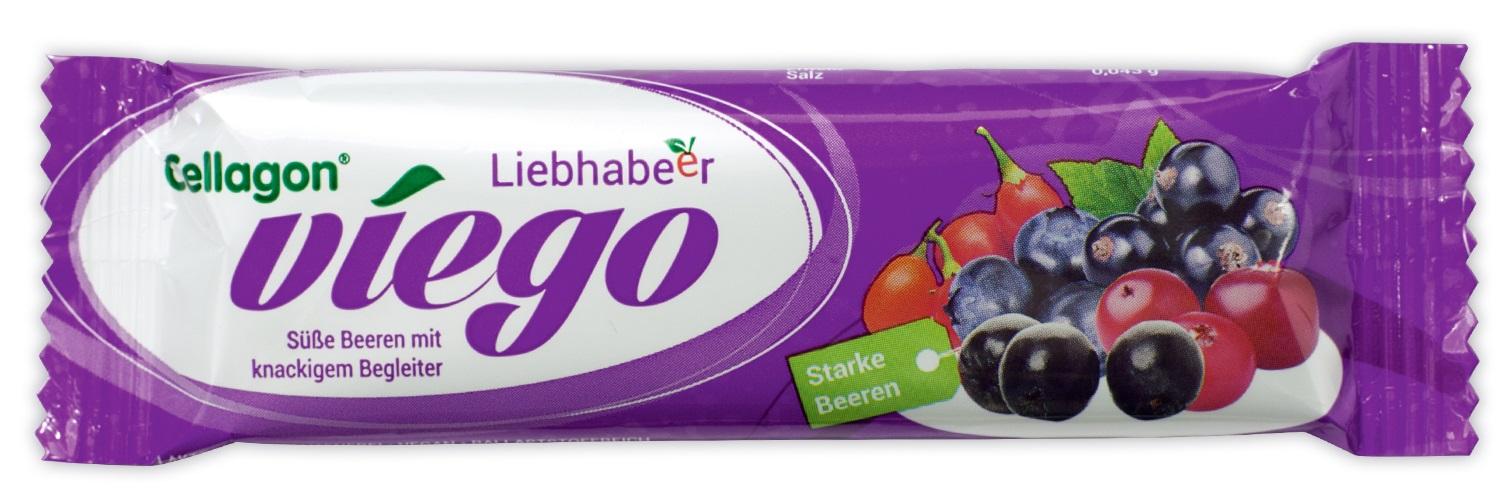 Fruchtriegel Cellagon viego Liebhabeer
