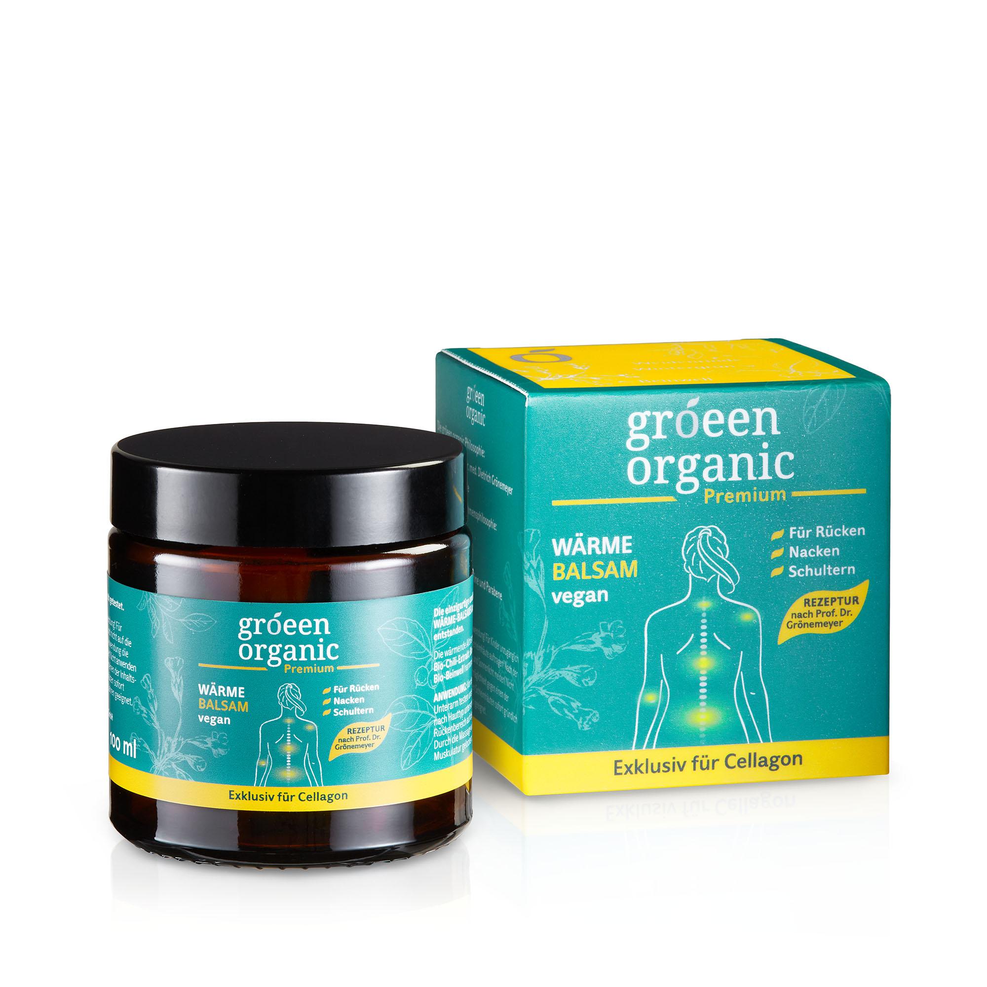gröeen organic Premium Wärme-Balsam | Wellness-Produkte