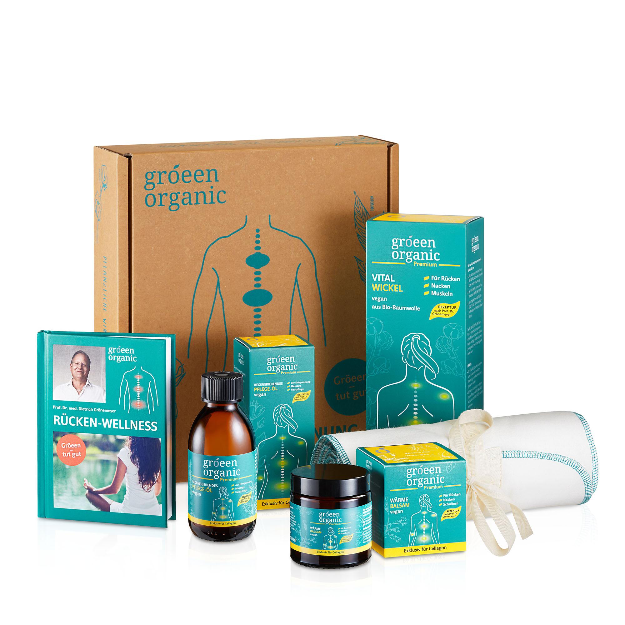 gröeen organic Premium Entspannungs-Set | Wellness-Produkte