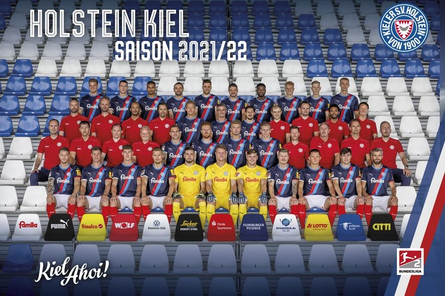 Holstein Kiel Mannschaftsbild 2021/22