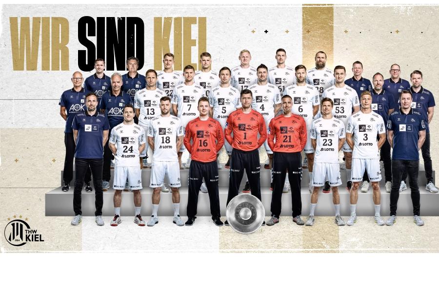 THW Kiel Mannschaftsbild